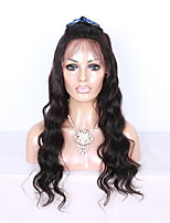 EVAWIGS 100%  12-28 Inch Brazilian Virgin Hair Natural Color Full Lace Wig Natural Wave 150% Density for Black Women
