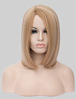 Europe and the United States Hot Sale Fashion Side Short Straight Synthetic Wig