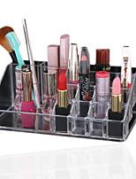 акриловый косметический организатор ясно макияж ювелирных изделий косметический хранения коробка дисплея держатель косметического продукта