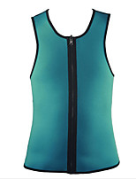 Men's Solid Casual Tank Tops,Cotton Sleeveless-Green