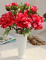 Hi-Q 1Pc Decorative Flower Peonies Wedding Home Table Decoration Artificial Flowers