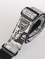 Individual Newspaper Design Guitar / Electric Guitar Strap Widening Cotton Guitar Strap