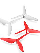SYMA X5C SYMA X5c X5SC Пропеллер гвардейская RC Quadcopters Красный / Черный / Белый / Зеленый / Желтый Пластик 4штк