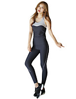 Running Clothing Sets/Suits Women's Sleeveless Breathable / Compression LYCRA® Yoga / Running Sports