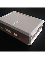 boîtier en plastique pour la framboise pi b + (blanc)