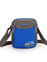 <20 L Shoulder Bag Camping & Hiking Outdoor Wearable Green / Blue Terylene Fashion