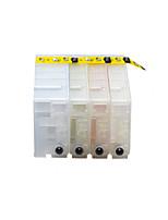 принтер картридж PGI-2100 заполненный картридж группа из четырех цветов черный, красный, желтый, синий