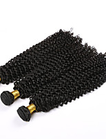 3 Bundles 7a grade Brazilian Virgin Curly Hair 100% Unprocessed Brazilian Deep curly Human Hair 100g/piece