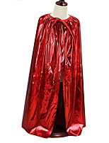 Costumes Ghost / Zombie / Vampires Halloween / Christmas / Carnival Red / Purple / Golden / Silver / Pink / Blue Cloak