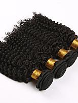 4 Pièces Bouclé Tissages de cheveux humains Cheveux Brésiliens Tissages de cheveux humains Bouclé