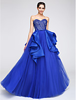 TS Couture® Formal Evening Dress A-line Sweetheart Floor-length Tulle with Lace