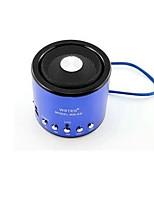 Metal Cylinder WSA8 Car Speaker, Portable Speaker, MP3 Player, Radio ,Can Be Inserted