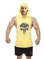 Men's Running Tops / Vest / Tank Fitness / Basketball / Running Breathable / Sweat-wicking / Held-In Sensation