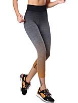 Women Solid Color Legging,Cotton / Spandex
