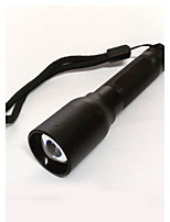 Lights LED Flashlights/Torch LED 300 Lumens 2 Mode Cree XP-E R2 14500 / AA Adjustable Focus / Compact Size / Emergency