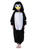 Kigurumi pijamas nueva Cosplay® / Pingüino Leotardo/Pijama Mono Víspera de Todos los Santos ropa de noche de los animales Negro/BlancoUn
