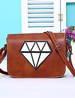 Women PU Casual Stitching Diamond Shopping Multifunction Shoulder Bag  Key Holder  Coin Purse  Mobile Phone Bag