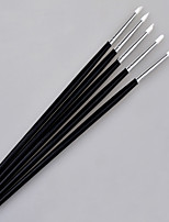 Nail Art tool Hollow Out Carving Embossing Pen Gel Pens Super Soft Silica Gel Pen Little Head 5 Only