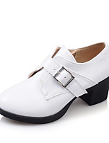 Women's Shoes Leatherette Spring / Summer / Fall / Winter Heels Heels Office & Career / Dress / Casual Chunky Heel