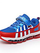 Unisexe-Extérieure / Décontracté / Sport-Vert / Rouge-Talon Plat-Confort-Sneakers-Polyuréthane