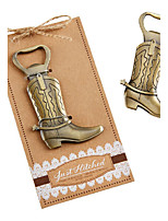 Bottle Favor-1Piece/Set Bottle Opener Classic Theme Non-personalised Silver Chocolate 13.3 x 7 x 0.3 cm/pack