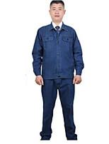 с длинными рукавами хлопок джинсовые антистатические размер защитной одежды, 180/80 / XXL