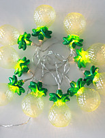 1PC LED Home Christmas Outdoors Decorate 1.5M 10 Dip Waterproof String Lights