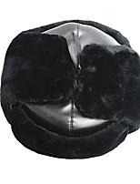 Fur Hat Ski Hat Women's / Men's Thermal / Warm Snowboard Polyester Gray / Black / Brown Skiing / Camping / Hiking / Snowsports / Downhill
