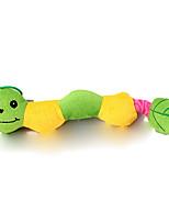 Cat / Dog Toy Pet Toys Plush Toy / Squeaking Toy Squeak / Squeaking Plush Green / Blue / Yellow