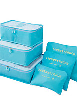 Korean Travel Pouch Packages  Six Sets Admission Package Travel Waterproof Travel Storage