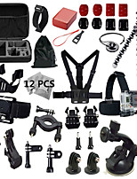 Gopro Accessories Set Go Pro Kit Mount for SJ4000 Gopro Hero4 3 2 Black Edition SJCAM Case Xiaomi Yi Tripod