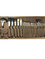 24Pcs Animal Wool Top Grade Professional Cosmetic Brush Sets Makeup Brush Set Beauty Tools