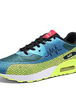 Unisex Sneakers Spring / Fall Comfort PU Casual Flat Heel  Black / Blue / Red Running
