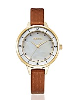KEZZI® 2016 new arrvial shell dial fashion women quartz watch 1378