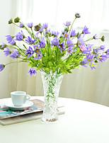 1pc 1 Une succursale Polyester / Plastique Marguerites Fleur de Table Fleurs artificielles 11.8inch/30CM