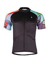 PALADIN® Fahrradtrikot Herrn Kurze Ärmel FahhradAtmungsaktiv / Rasche Trocknung / UV-resistant / Videokompression / Leichtes Material /