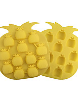 Pineapple Type Candy Fondant Cake Ice Molds  For The Kitchen Baking Molds 18.2*10.2*1.3cm