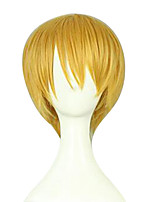Cosplay Wigs Kuroko no Basket Kise Ryota Golden Short / Straight Anime Cosplay Wigs 23 CM Synthetic Fiber Male