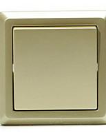 жемчуг золотой двойной переключатель управления настенный выключатель гнездо домой