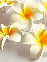 Hi-Q 100Pc Decorative Flowers Frangipani Petal  Wedding  Home Table Decoration Artificial Flowers