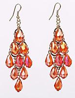 Ohrring Ovale Form Schmuck 1 Paar Stil Hochzeit / Party / Alltag / Normal Aleación Damen Goldfarben