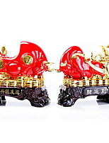 Resin Opening Gifts Ornaments Prosperous Wealth Lucky Cow