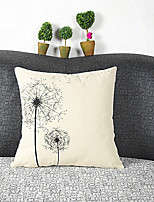 Dandelion Cotton/Linen Pillow Cover