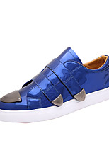 Men's Sneakers Summer / Fall Round Toe / Flats Cowhide Outdoor / Office & Career / Casual Flat Heel