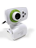 desktop HD fotocamera domestico del computer con ricevitore microfono