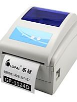 Jia Bo gp-1124d plano de mensajería electrónica única impresora de código de barras impresora de etiquetas de papel térmico