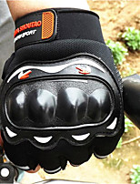 Off-Road Motorcycle Racing Gloves Half Finger Summer Knight Riding Motorcycle Half Finger Gloves Breathable