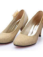 Women's Heels Summer Heels PU Casual Stiletto Heel Others Red / Silver / Gold Others