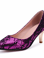 Women's Shoes Velvet/Spring/Summer/Fall/Winter Heels/Basic Pump/Pointed Toe Wedding Shoes /Office & Career