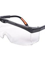 color transparente, pc material de gafas anti-impacto